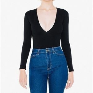 Sold Out American Apparel Black Venture Top